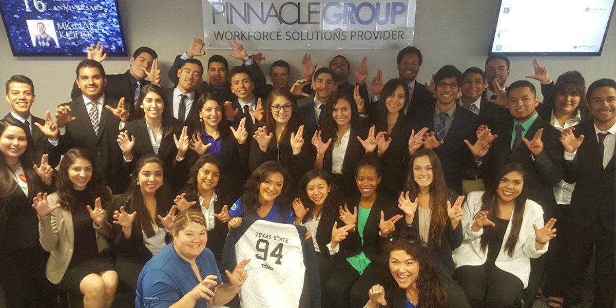 Nina Vaca Shares STEM Advice with TSU Hispanic Business Students