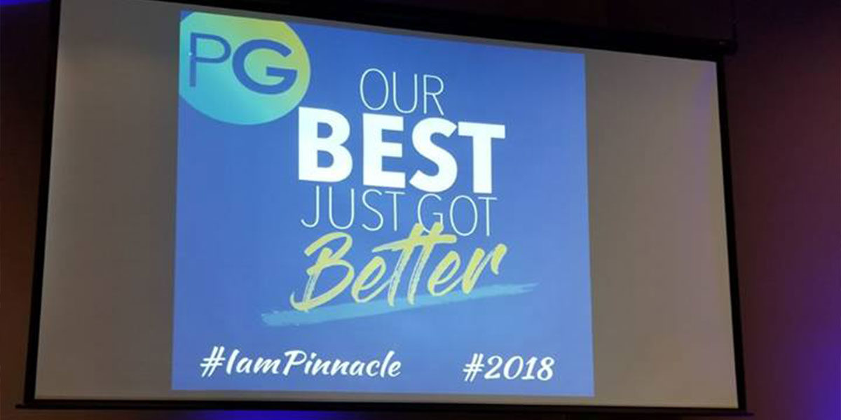 Pinnacle Group CEO hosts first quarter kickoff: our best just got better
