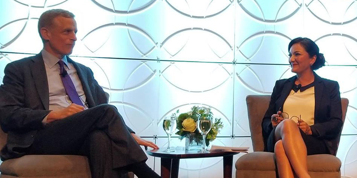 Powerhouse Dallas CEOs hold fireside chat