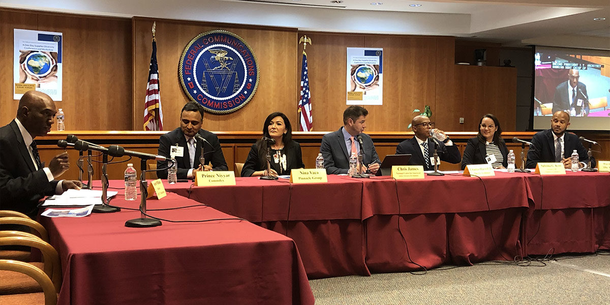 Thought leaders share expertise at the Federal Communications Commission