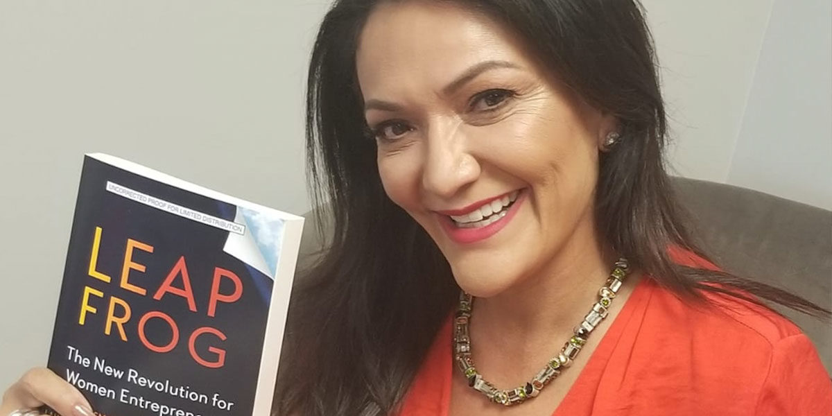 Nina Vaca featured in new entrepreneurial advice book