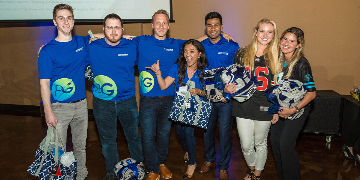 Pinnacle Group hosts football themed kickoff
