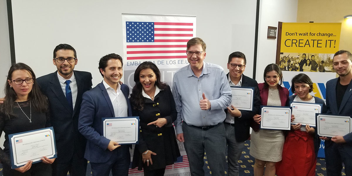 U.S. Embassy invites Nina Vaca to judge Pitch Competition